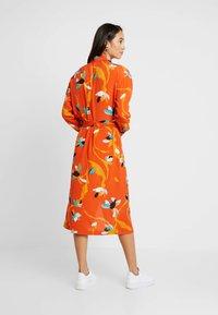 Soaked in Luxury - TAIKA DRESS - Vestido largo - burnt ochre - 3