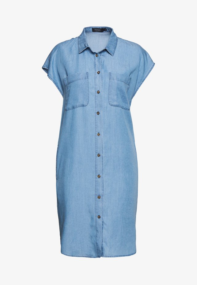 KESIA SAMIRA TUNIC DRESS - Spijkerjurk - medium blue denim