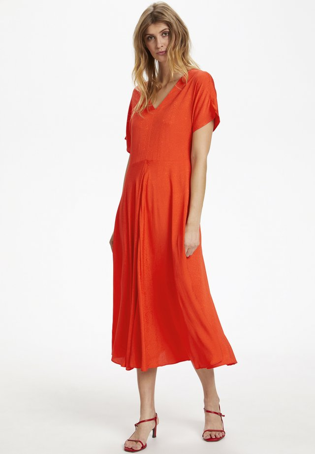 SLVEDA - Day dress - tangerine tango