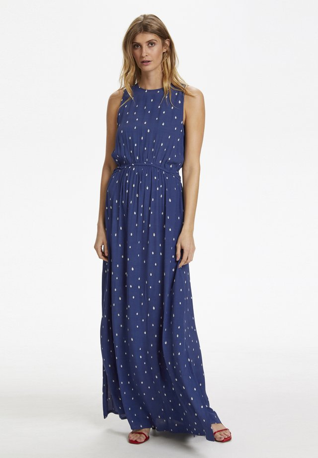 Vestido largo - blue