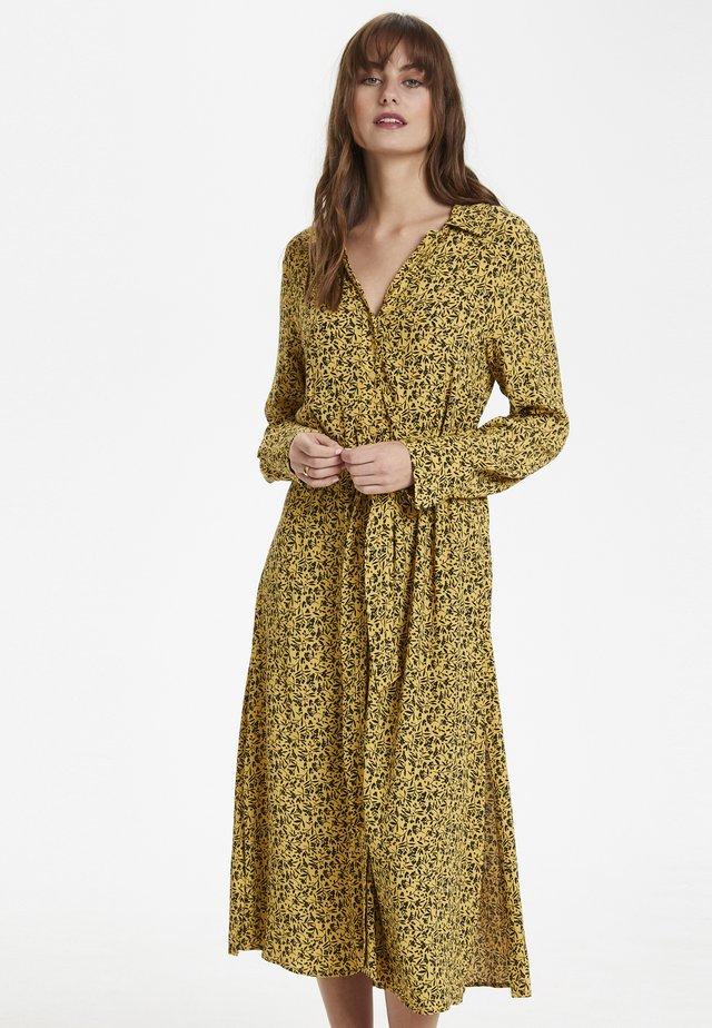 SLHALIMA - Vestido camisero - yellow
