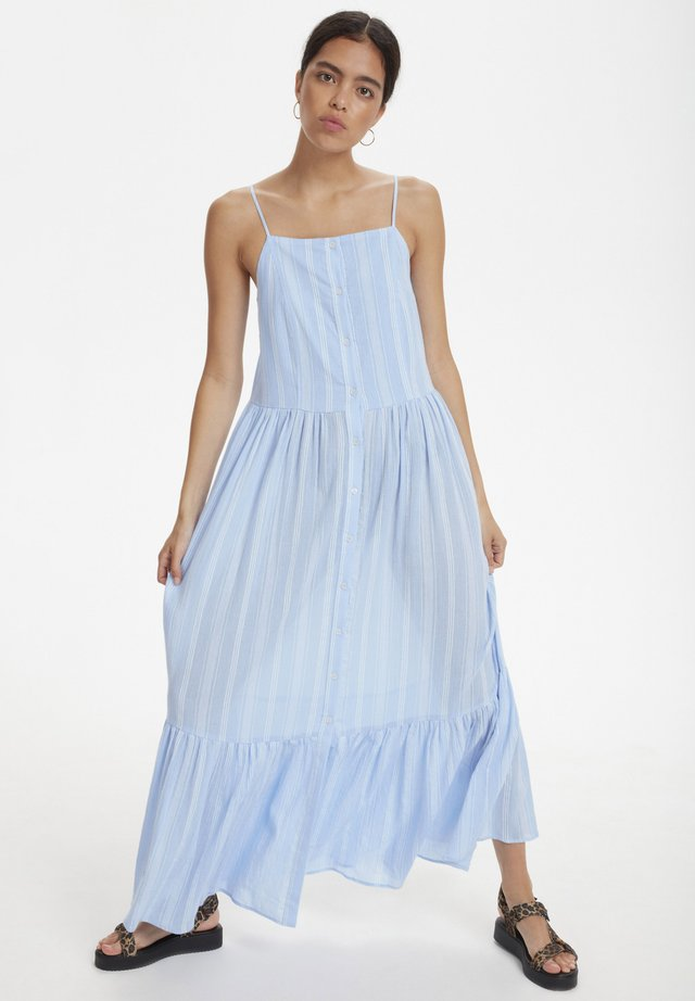 SLMARI MAXI DRESS - Vestido largo - blue