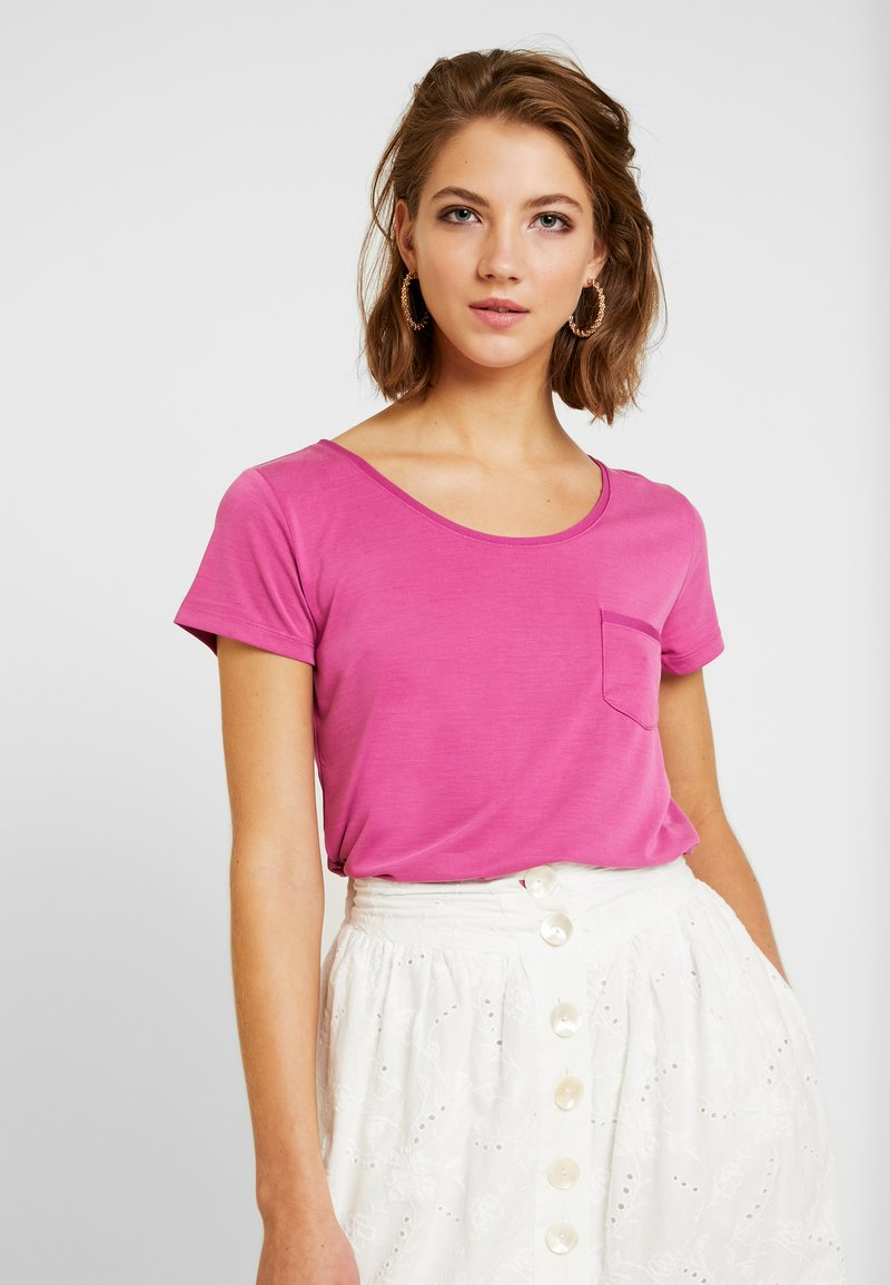 Soaked in Luxury - COLUMBINE TEE  - T-Shirt basic - pink