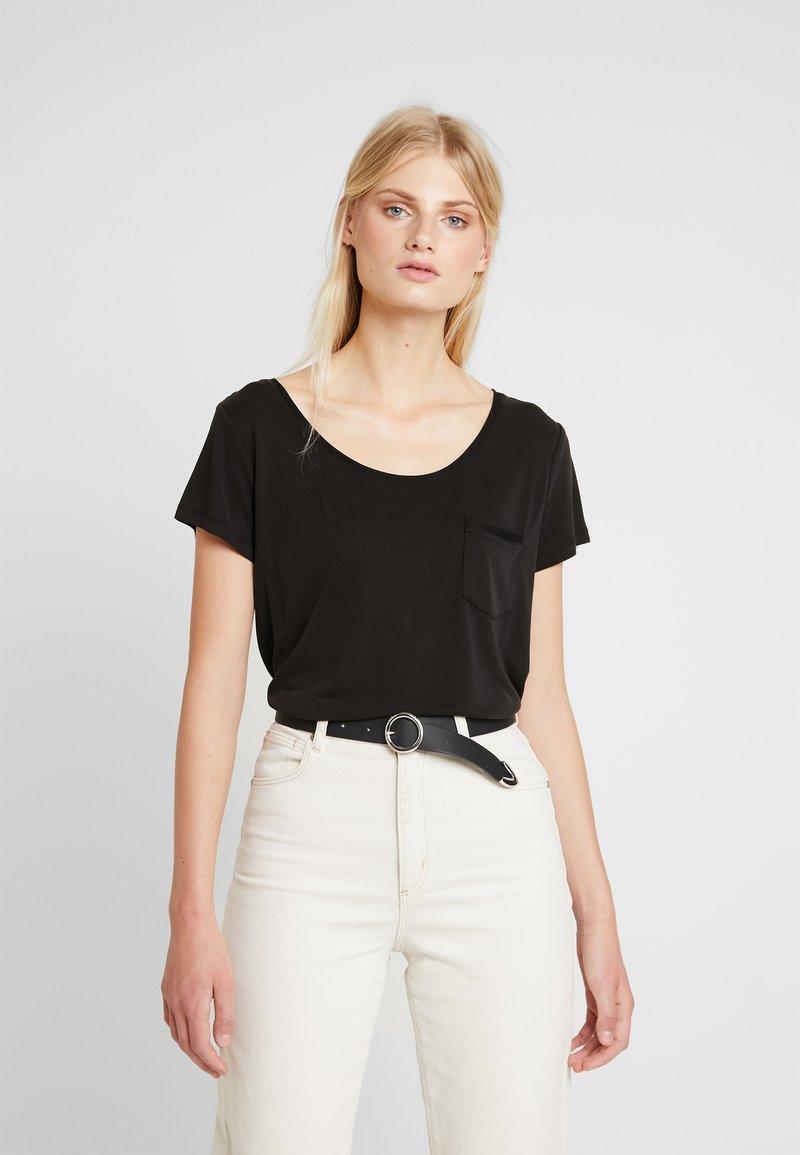 Soaked in Luxury - COLUMBINE TEE  - T-shirt basic - black
