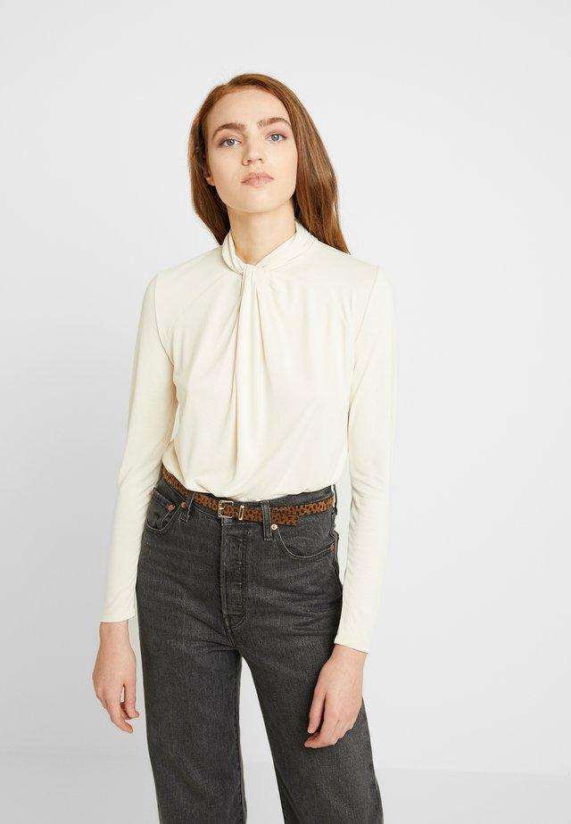 SLLILIANA - Långärmad tröja - antique white