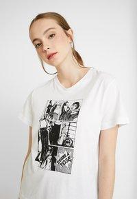 Soaked in Luxury - CORTO - Print T-shirt - broken white - 3