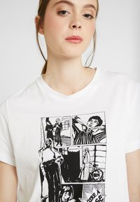 Soaked in Luxury - CORTO - Print T-shirt - broken white - 5
