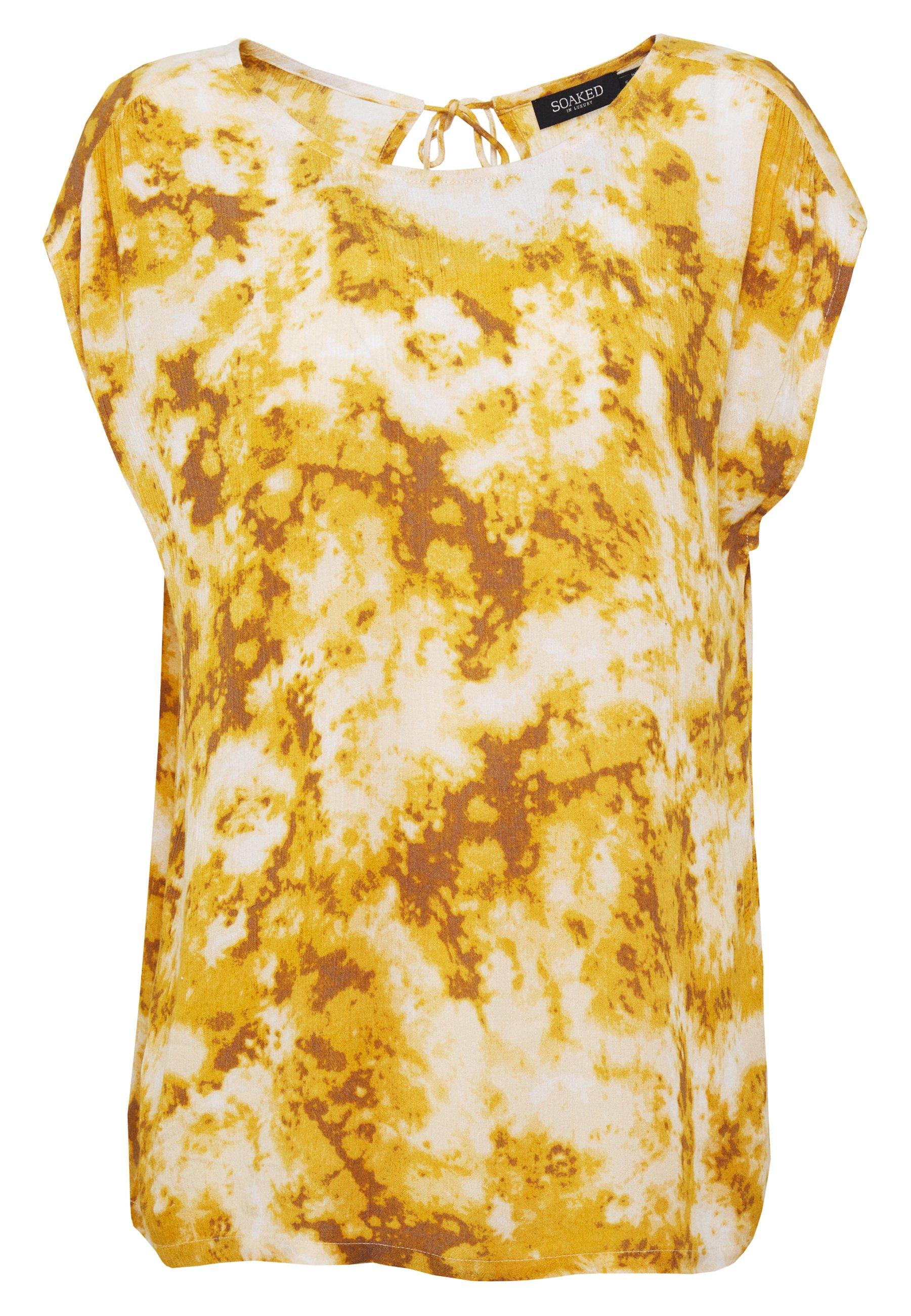 Soaked in Luxury ZAYA - Bluzka - amber gold