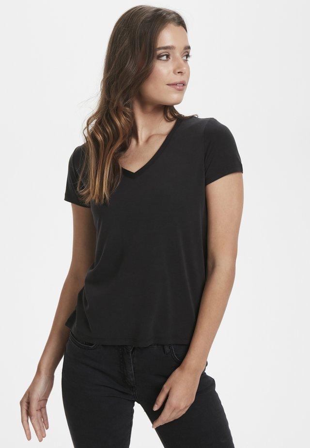 SL COLUMBINE - T-shirt - bas - black