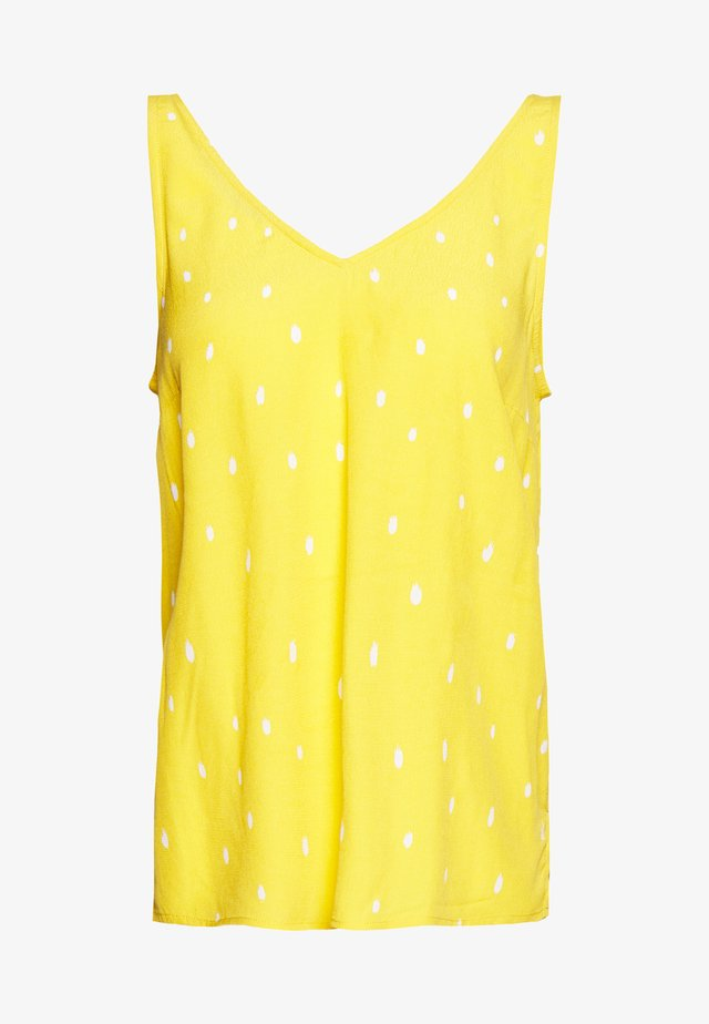 ALAYA BIBBIE TOP - Pusero - yellow