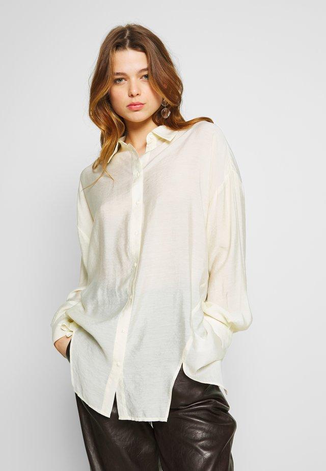 MARLA - Button-down blouse - antique white