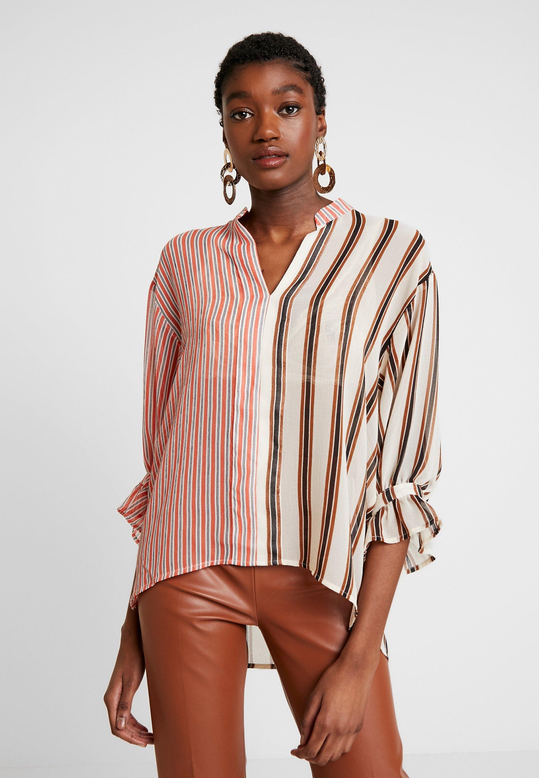 Soaked in Luxury MILY BLOUSE - Bluser - burnt ochre pattern