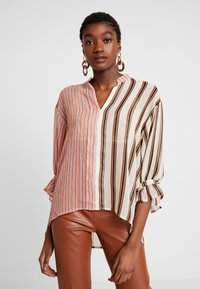 Soaked in Luxury - MILY BLOUSE - Bluse - burnt ochre pattern - 0