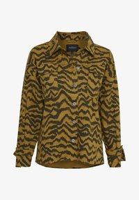 Soaked in Luxury - SLAPIYO SHIRT JACKET LS - Summer jacket - mustard wood - 5