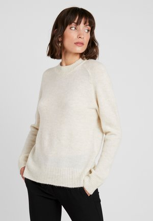 CREW NECK  - Sweter - antique white