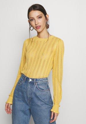 MELINDA - Sweter - rattan