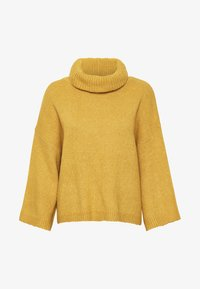 Soaked in Luxury - SLVIVIAN ROLLNECK - Trui - mineral yellow - 6