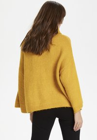 Soaked in Luxury - SLVIVIAN ROLLNECK - Trui - mineral yellow - 3