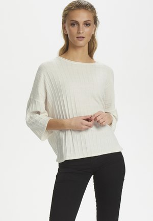 SLRAYA PULLOVER 3/4 - Trui - antique white