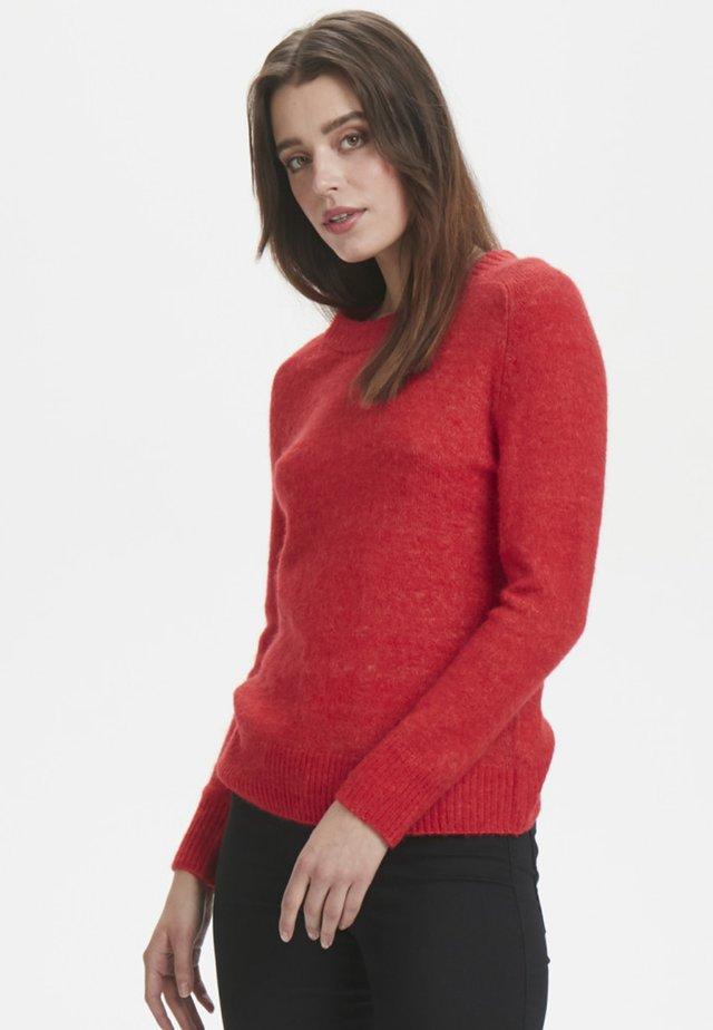 Jersey de punto - high risk red