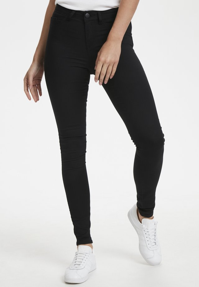 LEIA - Jeans Skinny Fit - black