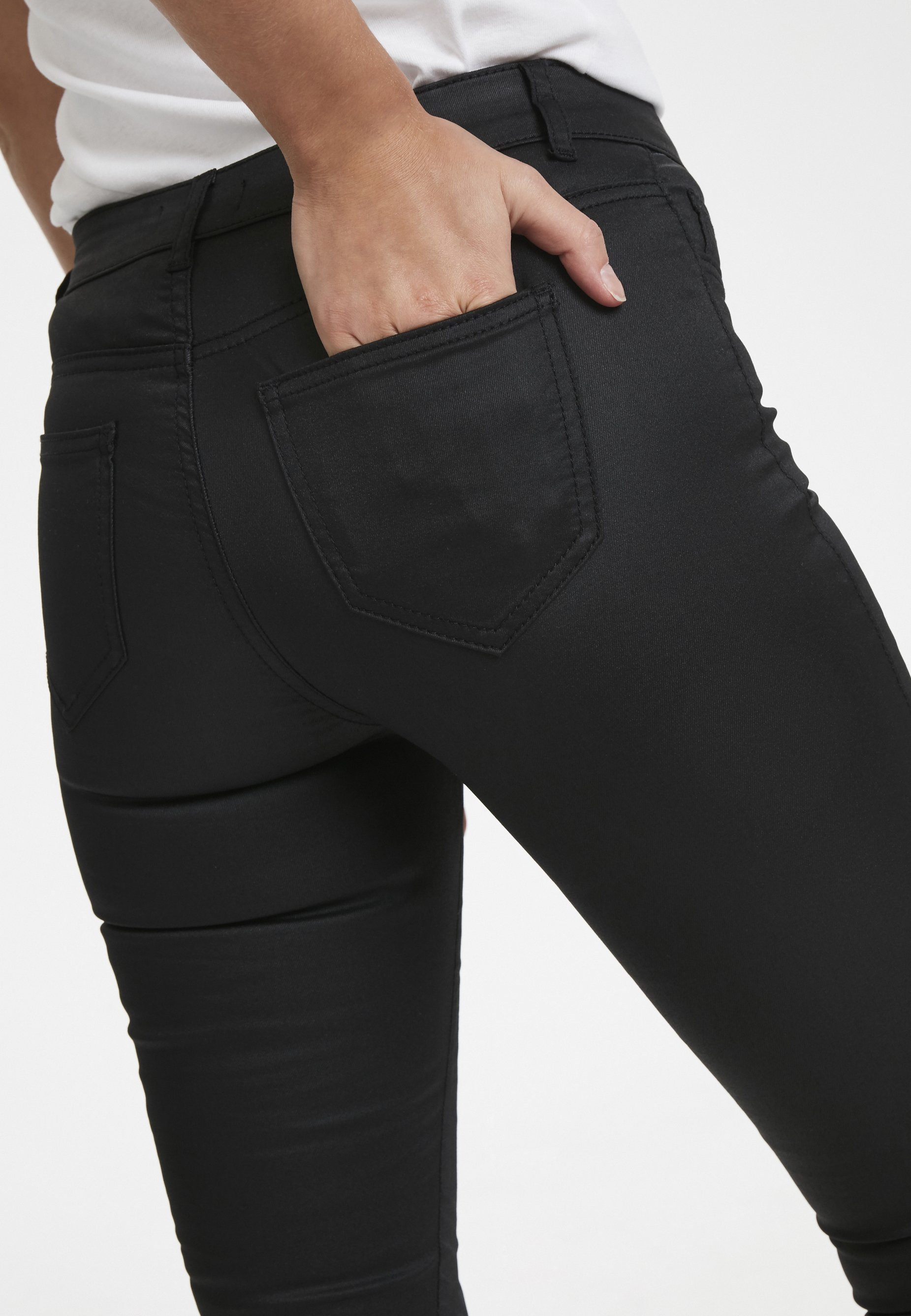 Soaked in Luxury Jeansy Skinny Fit - black