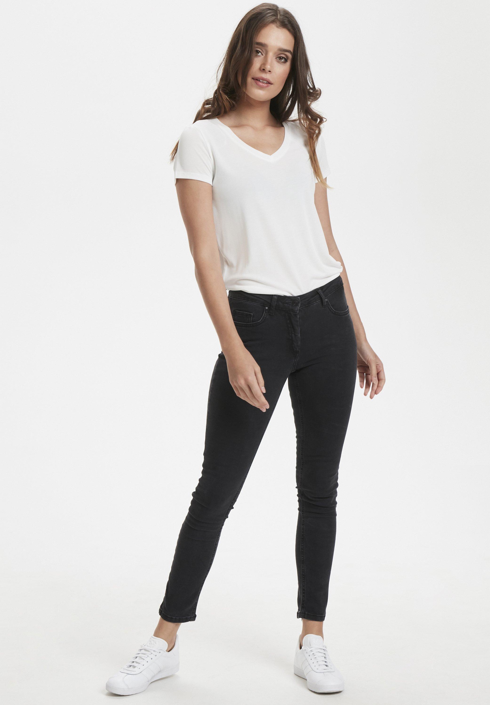 Soaked In Luxury Callas - Jeans Skinny Fit Black