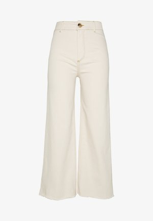 SHANI JEANS - Relaxed fit jeans - antique white