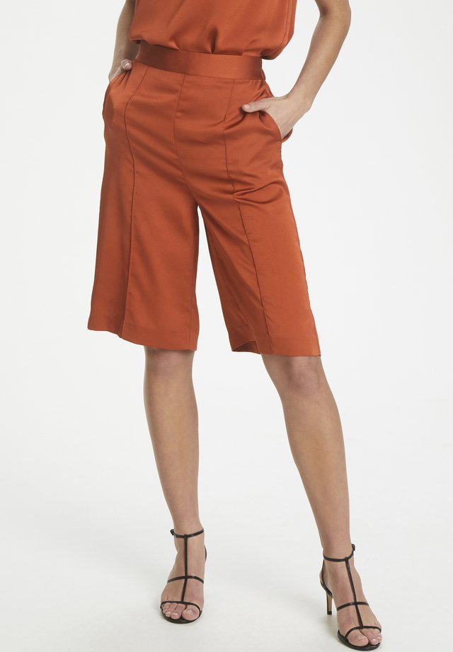 SLVERIA - Shorts - barn red