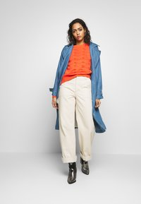 Soaked in Luxury - Trench - light blue denim - 1