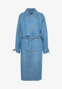 Soaked in Luxury - Trench - light blue denim - 4