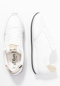 s.Oliver BLACK LABEL - Sneaker low - white - 3