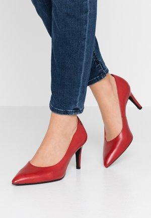 Klassiske pumps - red