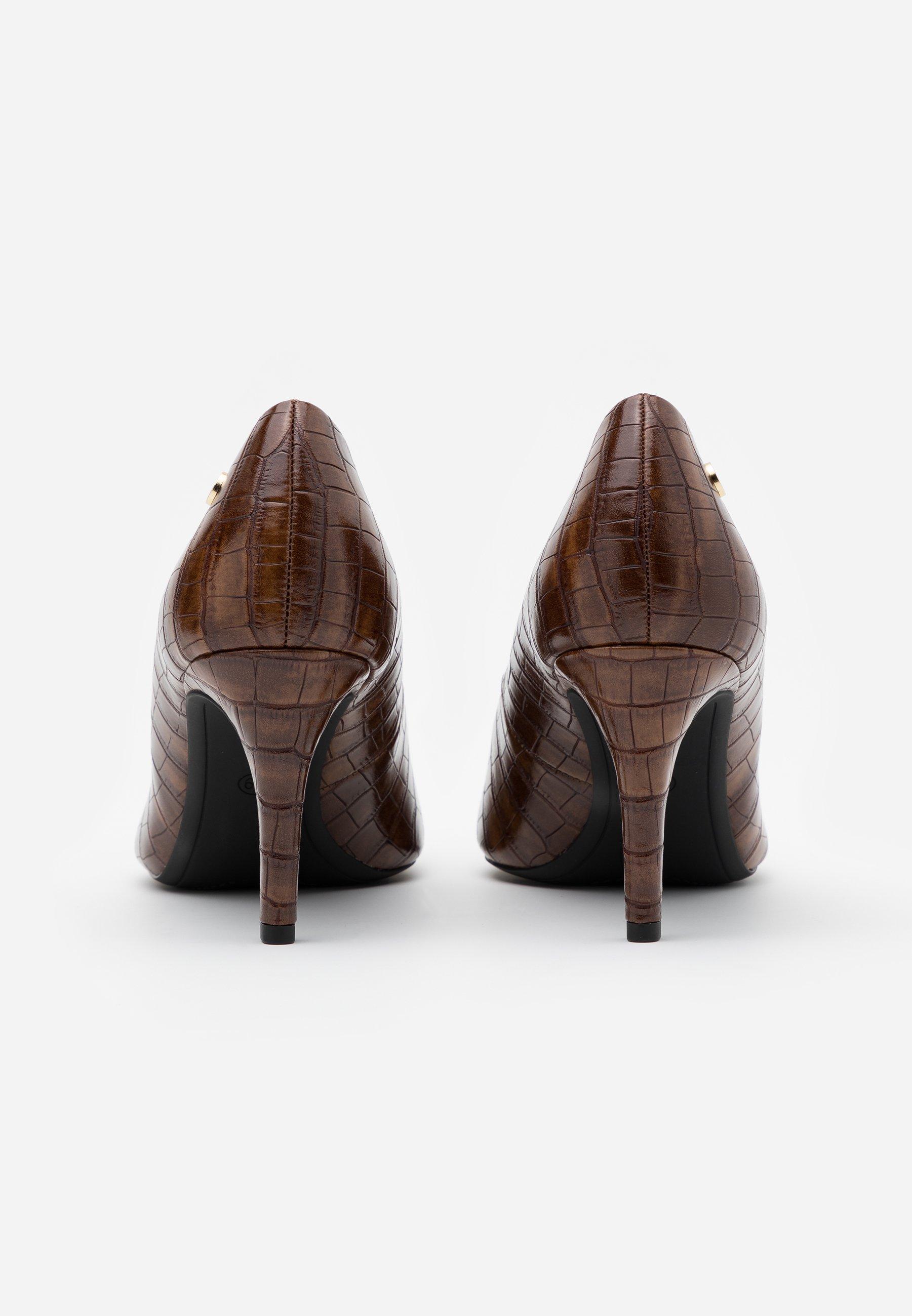 Recomendar barato s.Oliver BLACK LABEL COURT SHOE - Tacones - cognac | Calzado de mujer2020 USaU9