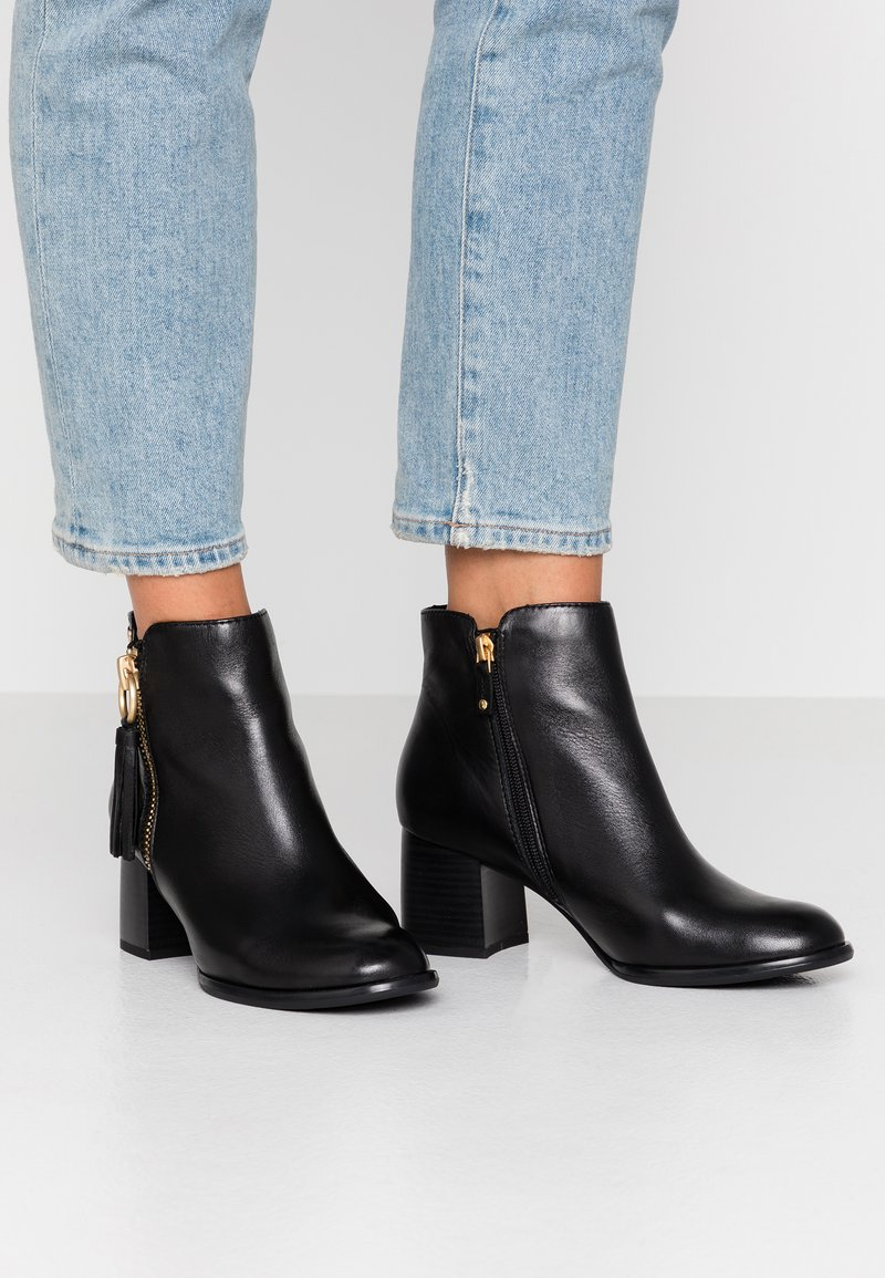 s.Oliver BLACK LABEL - Ankle Boot - black