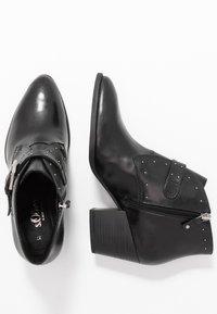 s.Oliver BLACK LABEL - Boots à talons - black - 3