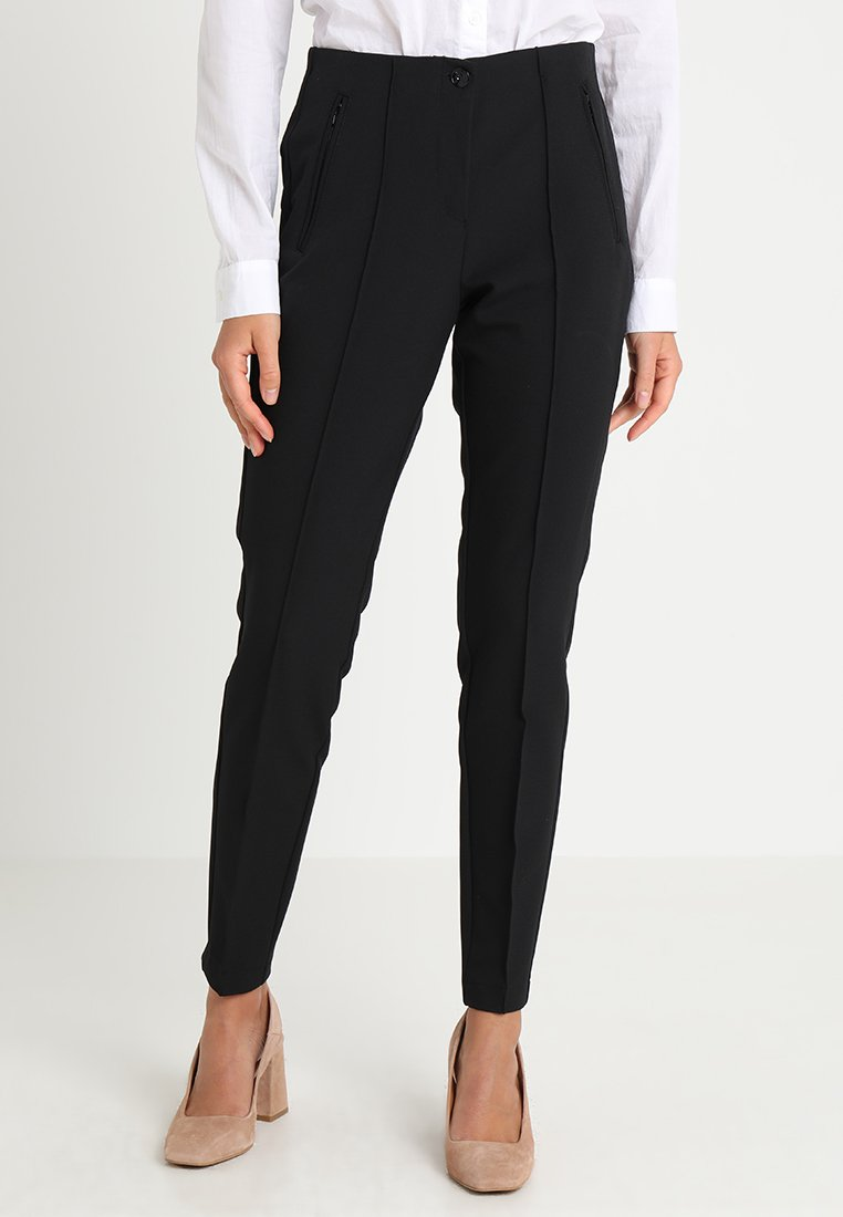 s.Oliver BLACK LABEL - Stoffhose - black