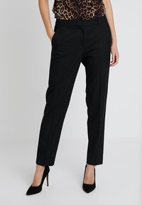 s.Oliver BLACK LABEL - LANG - Pantaloni - black - 0