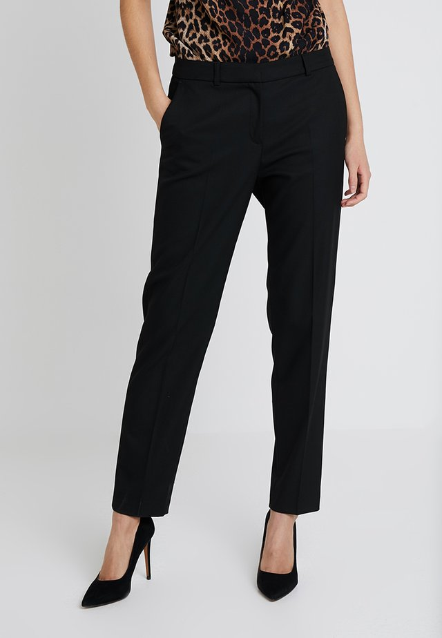 LANG - Spodnie materiałowe - black