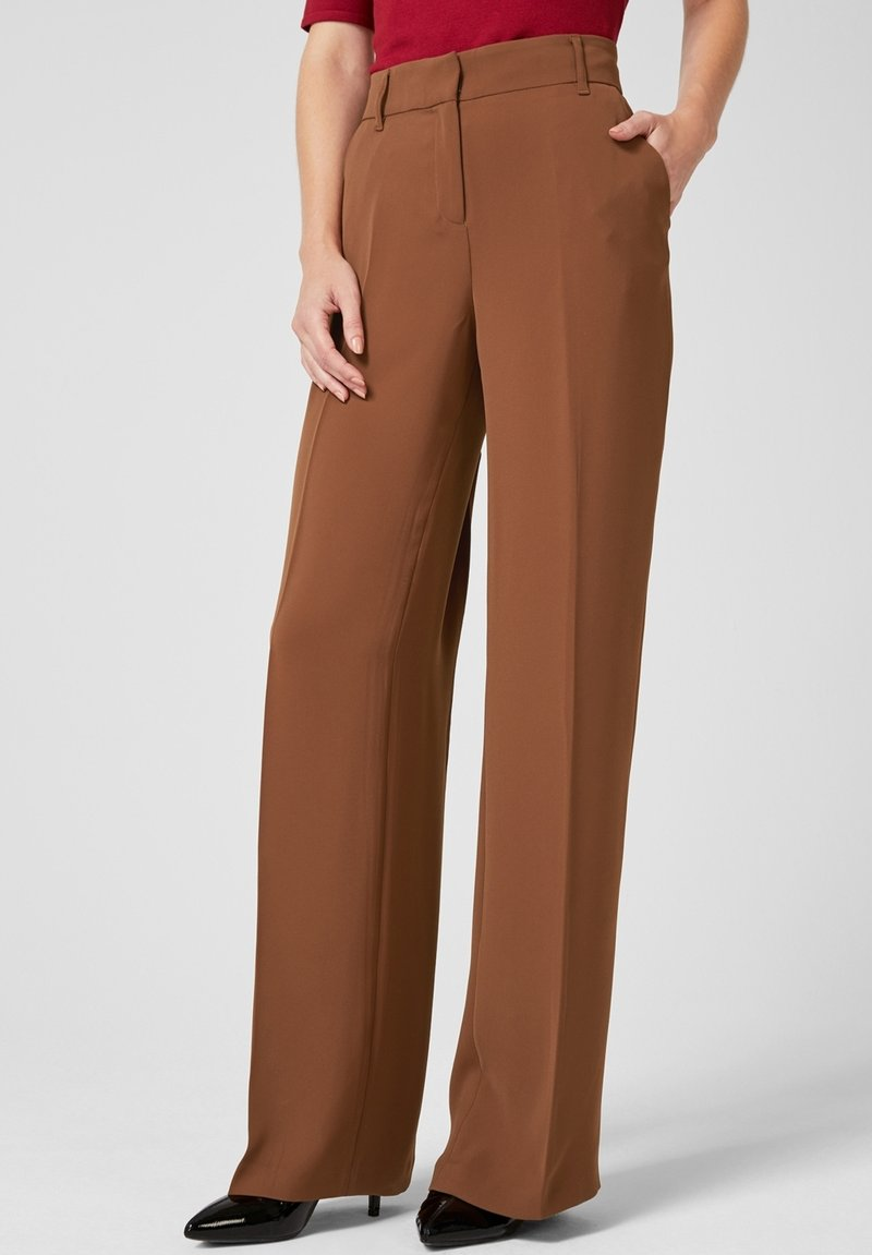 s.Oliver BLACK LABEL - Trousers - brown