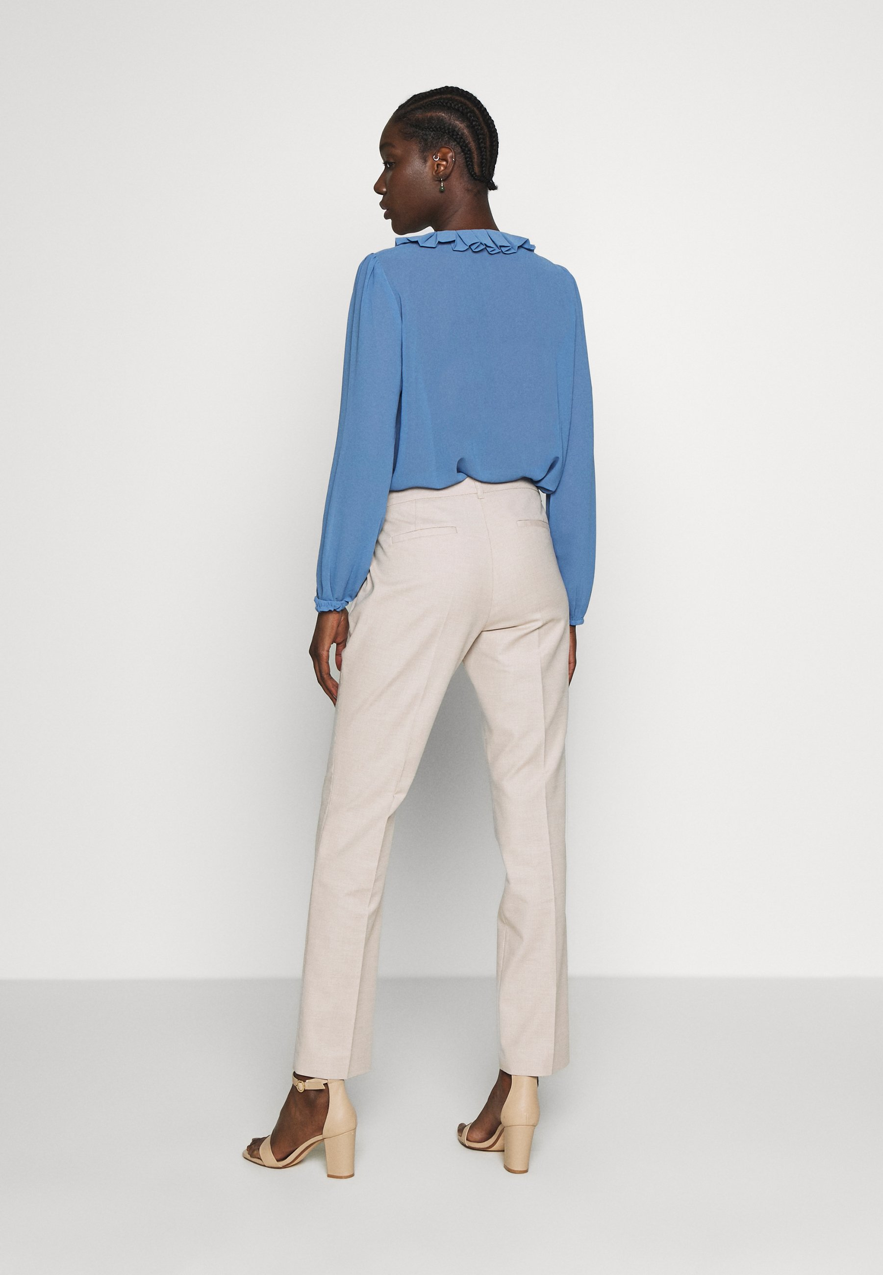 s.Oliver BLACK LABEL Spodnie materiałowe - brown pann