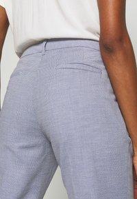 s.Oliver BLACK LABEL - Kalhoty - blue panne - 5