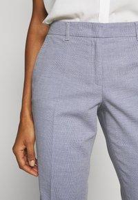 s.Oliver BLACK LABEL - Kalhoty - blue panne - 3