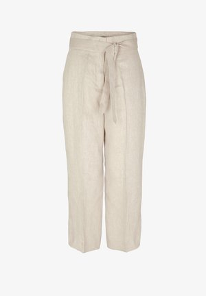 3 PACK - Trousers - beige