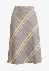 s.Oliver BLACK LABEL - Áčková sukně - brown - 3