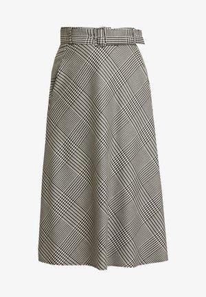 A-linjekjol - grey/black