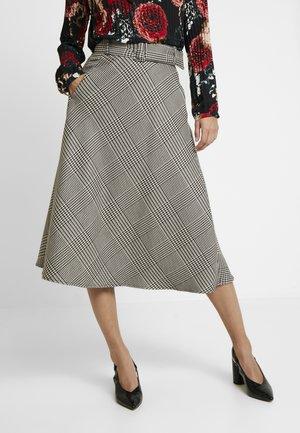 A-line skirt - grey/black