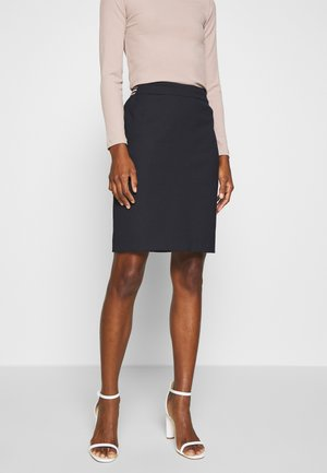 Pencil skirt - dark navy