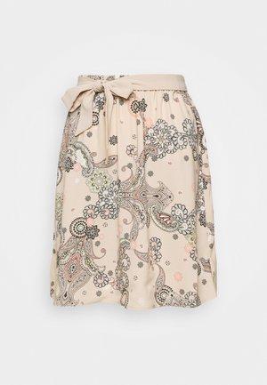 KURZ - A-line skirt - beige