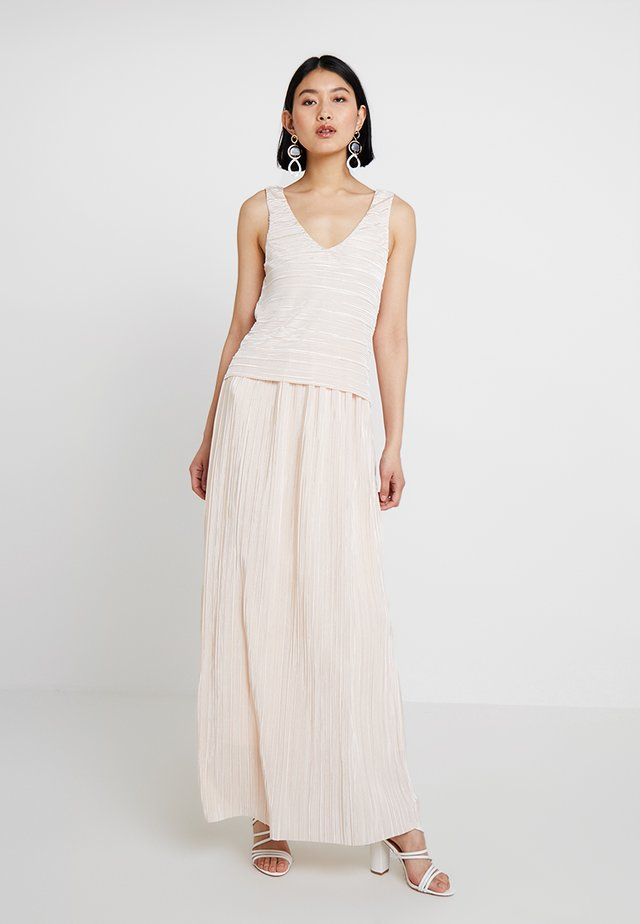Occasion wear - lovely peach